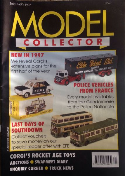 ORIGINAL MODEL COLLECTOR MAGAZINE January 1997